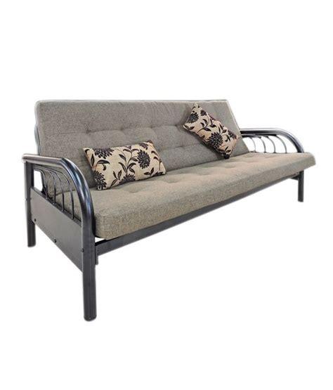 sofa cum bed price in india furniturekraft sofa cum bed in beige buy online at best