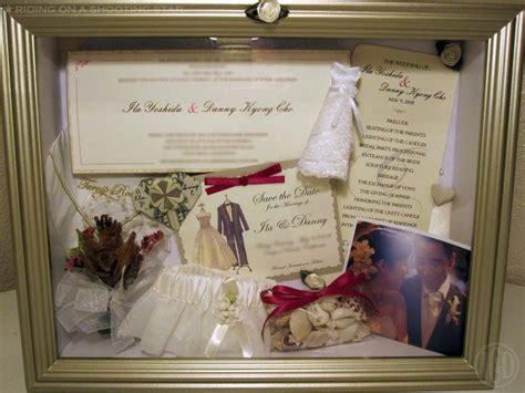 Wedding Shadow Box Ideas by Happy 2nd Wedding Anniversary On A Shooting