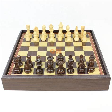 wooden chess sets for sale hot sale red dragon phoenix leather box wooden table