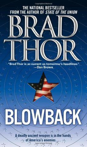 blowback (scot harvath, #4) by brad thor — reviews