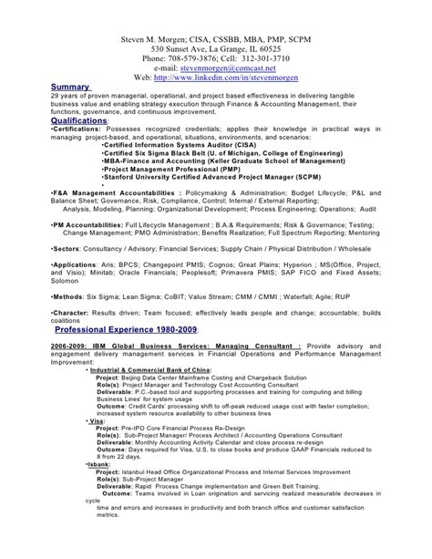 Steve Resume by Steven M Morgen Resume Downloadable