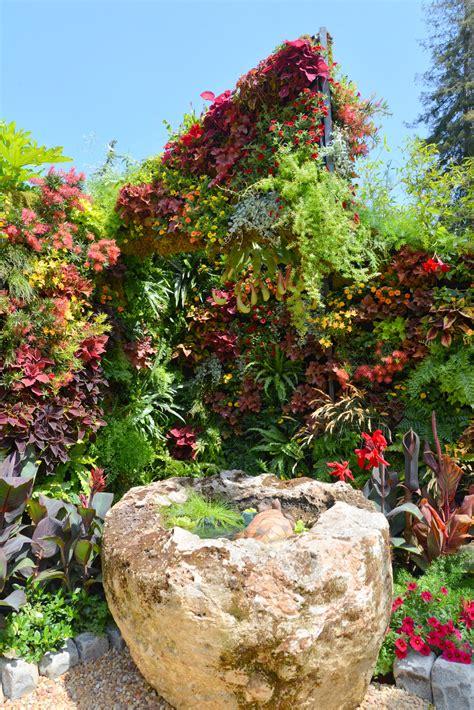 living architecture vertical garden florafelt vertical
