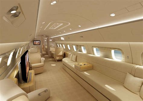 Lineage 1000 Interior by Embraer Lineage 1000 Jet Luxury
