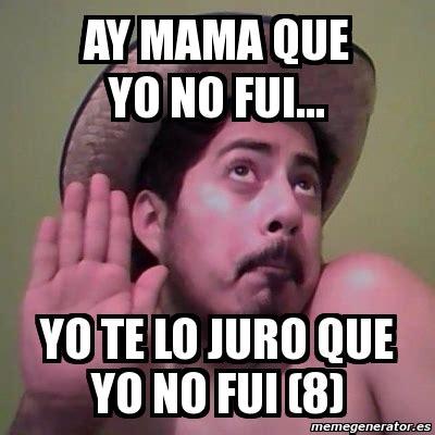 Yo Meme by Memes De Yo No Fui Imagenes Chistosas