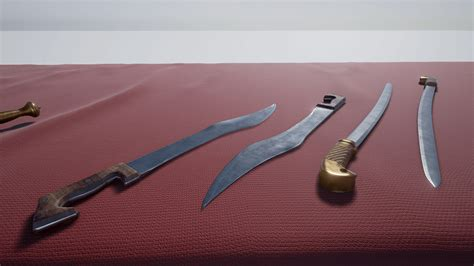 european swords european swords by erhan yilmaz in weapons ue4 marketplace