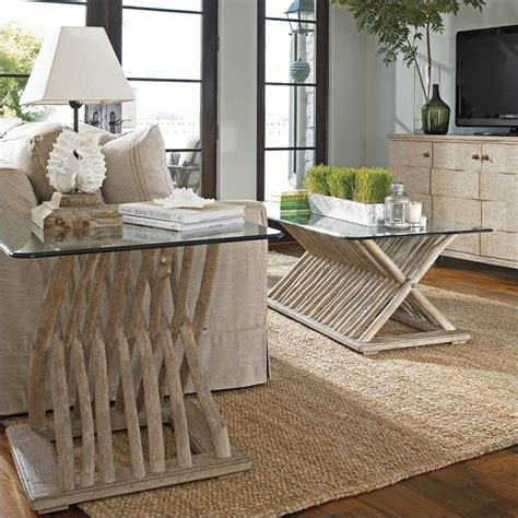 Coastal Living Coffee Tables Coastal Living Resort 2 Coffee Table Set In Weathered Pier 062 75 02 14 Pkg