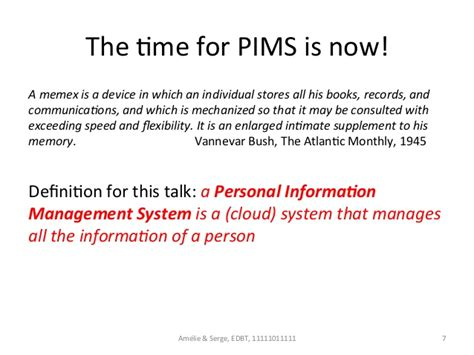 talking about change a connecting paradigms supplement books personal information management systems edbt icdt 15