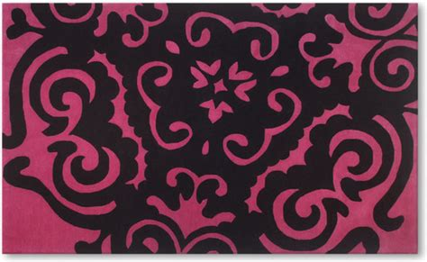 pink and black rugs pink and black carpet images