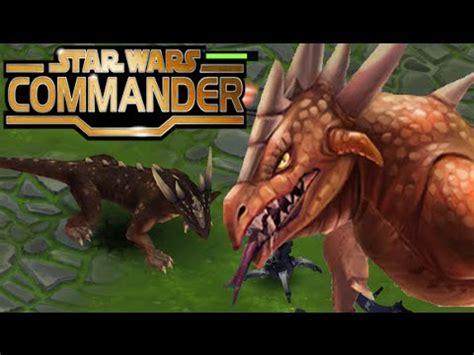 star wars commander empire   krayt dragon its a real