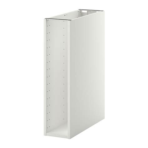 ikea kitchen cabinet legs metod base cabinet frame white 20x60x80 cm ikea