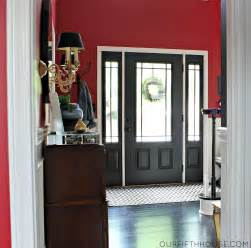 How do you feel about black interior doors are you a fan of dirt