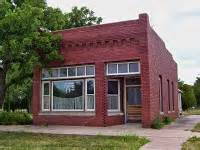 Beaumont Post Office by Prairie Bluestem Beaumont Kansas Railroad Town