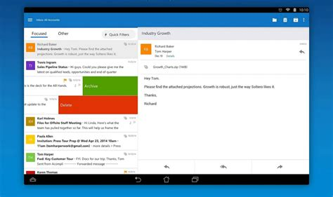 Microsoft Outlook microsoft outlook preview lands on android might be worth a serious look droid