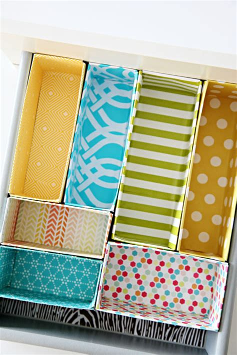 How To Make Drawer Dividers At Home by Diy Cereal Box Drawer Dividers Home Decorating Diy