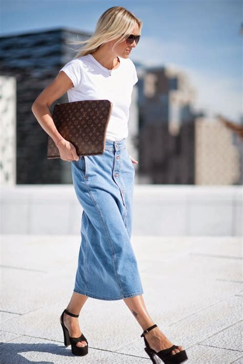 7 Best Jean Skirts For Back To School by Must Back To School Pieces For Fashionistas