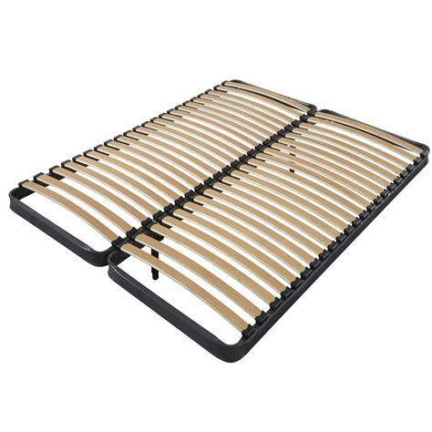 cadre de lit 70 70cm x 190cm avec 2 pieds de raccord et 2x22 lattes dya shopping fr