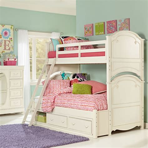 bunk bed for girls sophie bunk bed rosenberryrooms com