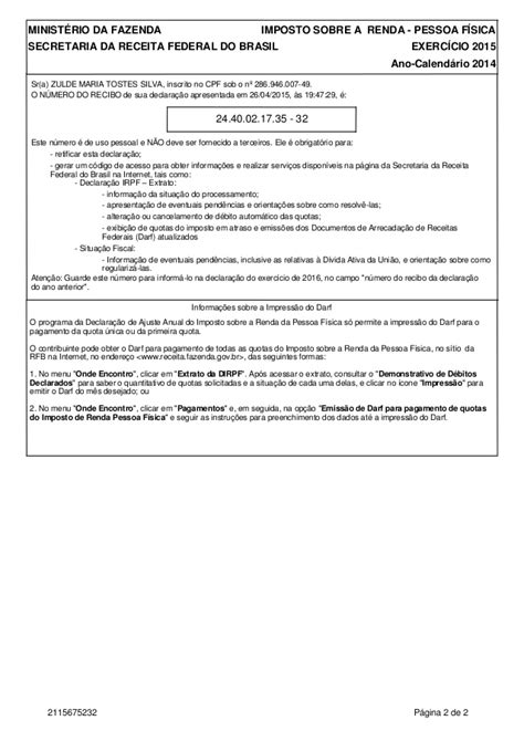 emitir darf 2016 darf quotas de irpf 2016 c 225 lculo de darf imposto de