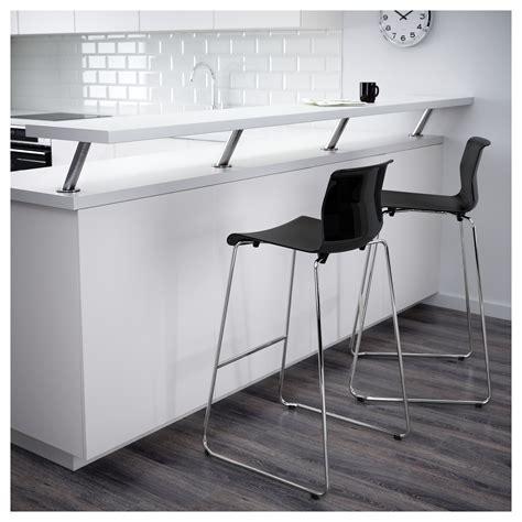 glenn bar stool black chrome plated 77 cm