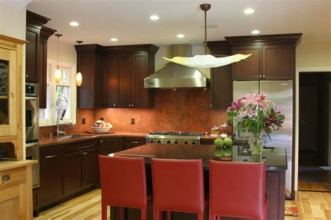 expert woodworking classic style stained alder kitchen yelp