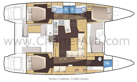 Catamaran Floor Plan | lagoon 450 sportop air conditioned catamaran charter ibiza
