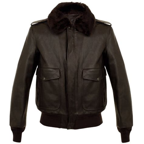 cowhide jackets schott nyc a 2 cowhide brown leather flight jacket