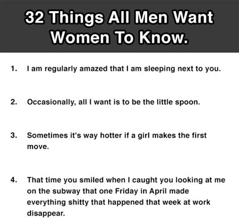 what do men want in bed 32 things all men want women to know 19 is so true