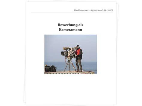 Praktikum Bewerbung Zeugnisse Mitschicken Kameramann Bewerbung Tipps Zu Anschreiben Und Lebenslauf