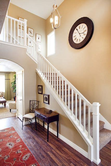 build  parade home  interior railing home