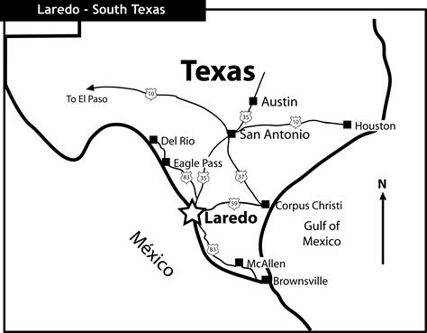 laredo texas map city map for laredo texas