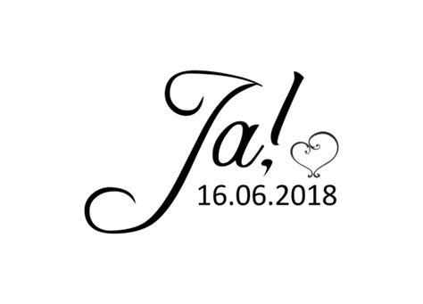 Ja Hochzeit by Autoaufkleber Hochzeit Just Married T04