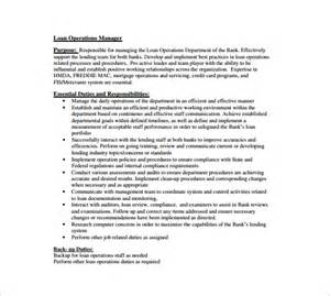 10 operation manager description templates free