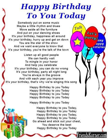 Happy Birthday Ma Am Quotes Happy Birthday Mother Poems A Happy Birthday Poem Funny