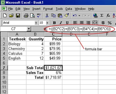Spreadsheet Formulas Start With by The Distinguishing Feature Of A Spreadsheet Program Such