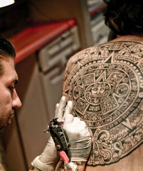 Calendario Azteca Tatuajes Tatuaje Calendario Azteca Blogtatuajes
