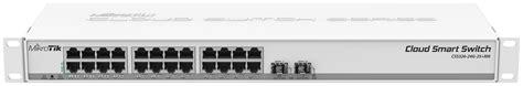 Switch Mikrotik 24 Port mikrotik cloud smart switch css326 24g 2s rm layer2 switch meconet shop
