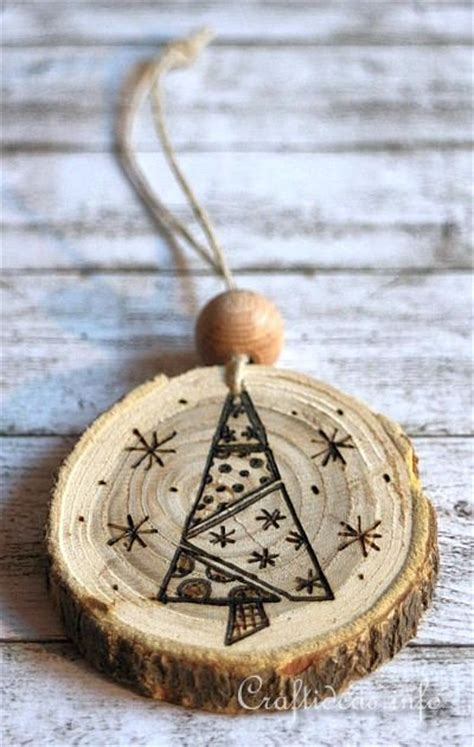 wood burned christmas ornaments 5 wood burning