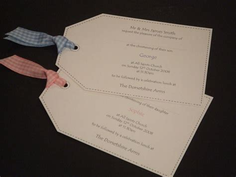 Handmade Christening Invitations - christening card ideas car interior design