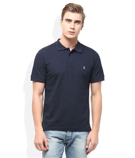 Polo Shirt 9 Inches Raglan Original Navy original penguin navy polo neck t shirt buy original
