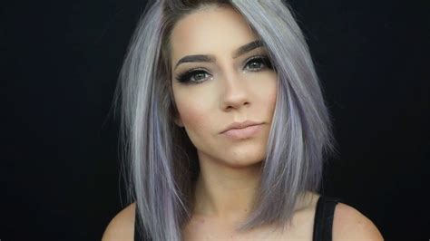 clear hair color color your hair at home pastel periwinkle with