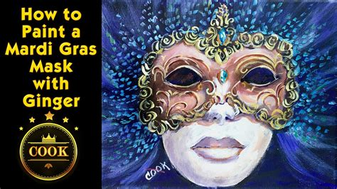 How To Make A Mardi Gras Mask Out Of Paper - how to paint a mardi gras mask with acrylic paints for