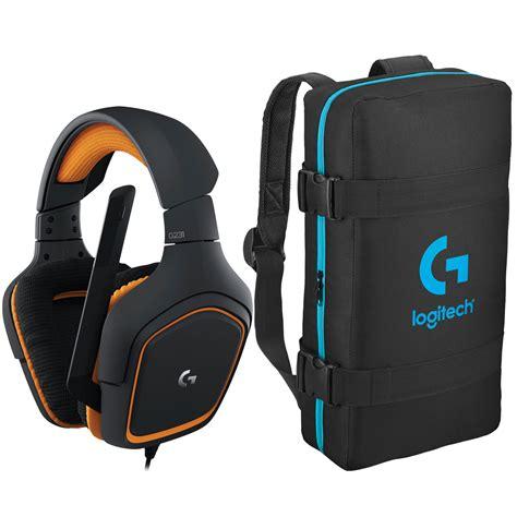 Logitech G231 Prodigy Gaming Headset Terjamin logitech g231 prodigy gaming headset esport bag offert
