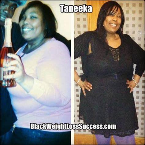 weight loss 90 pounds taneeka lost 90 pounds black weight loss success
