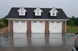 3 Car Garages by 3 Car Garage With Gable Dormers