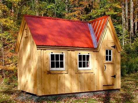 doll house shed diy plans 8x12 doll house shed kids playhouse backyard outdoor tool storage ebay