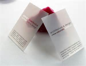 plastic business cards nyc pinkograf the best plastic business cards architect