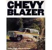 Car Brochures  1977 Chevrolet And GMC Truck
