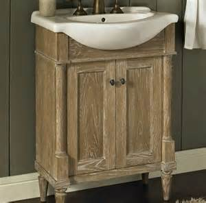 fairmont rustic chic 26 quot vanity and sink set rustic