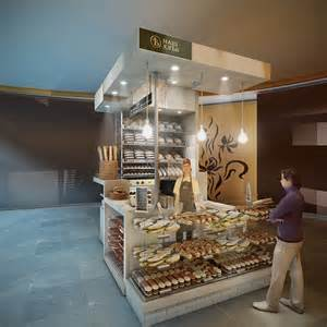 Kitchen Collection Jobs concept for a mini bakery kiosk in moscow on behance