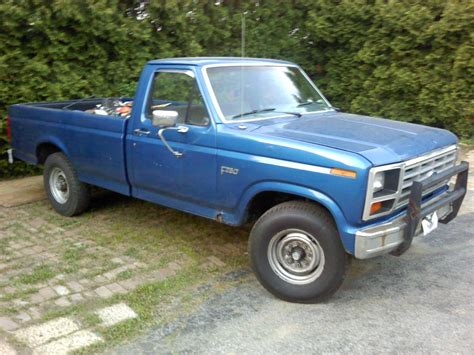 how to work on cars 1985 ford f series head up display 1985 ford f250 information and photos momentcar